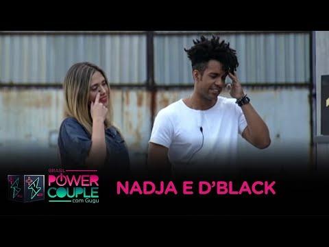 Relembre A Trajetória De Nadja E D'Black No Power Couple Brasil