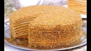 Торт Медовик. Самый ВКУСНЫЙ и БЮДЖЕТНЫЙ рецепт!Медовый торт рецепт домашний