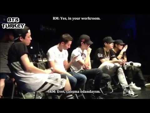 [11.08.2013] Supreme Boi & Rap Monster Phone Call (Eng/Tr Sub)