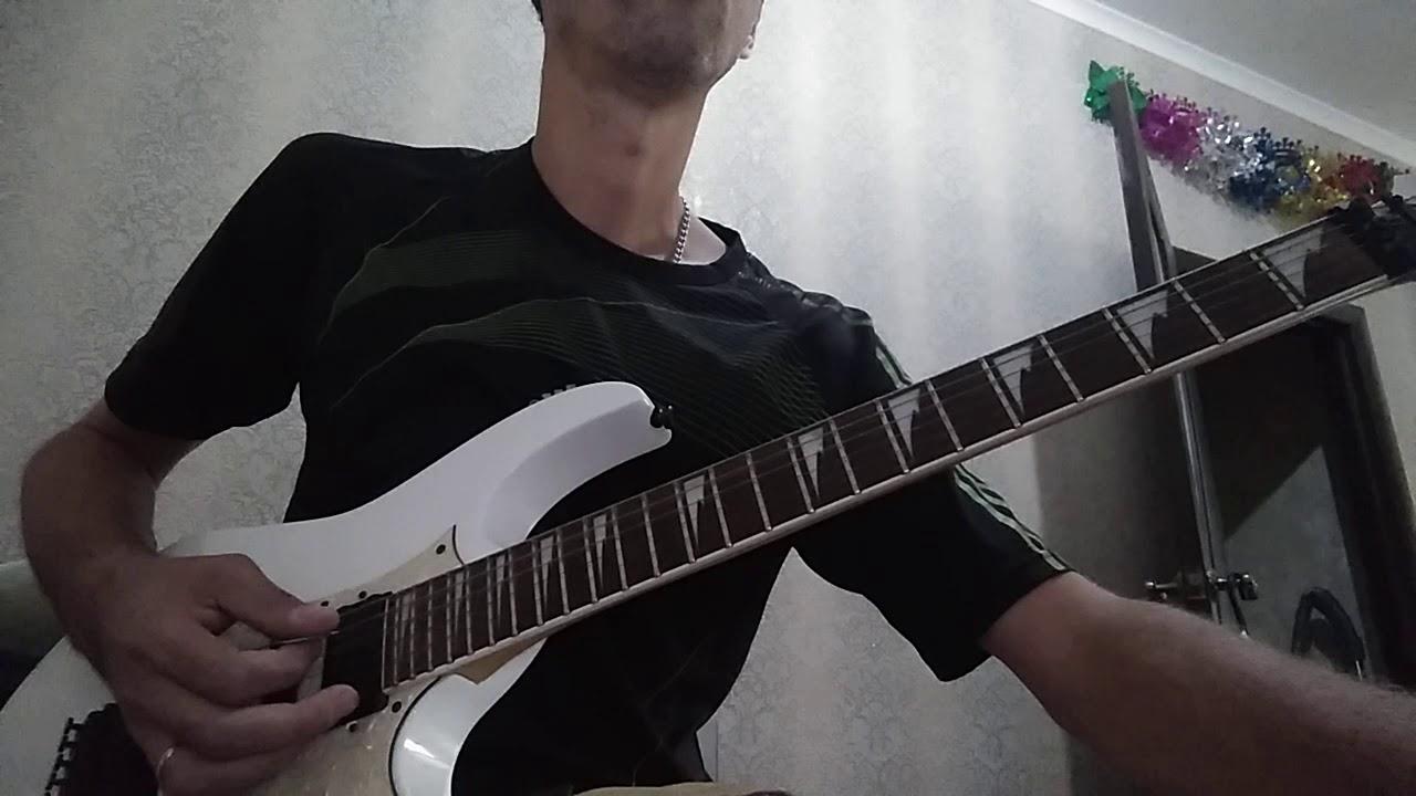 Queen. Богемская рапсодия. Попытка сыграть соло гитариста Брайана Мея