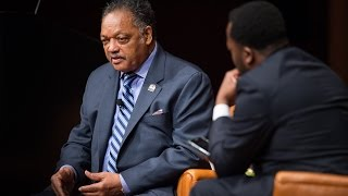 .@fordschool - Bankole Thompson Interviews Rev Jackson on Trump's Election