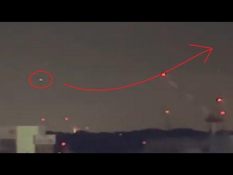 UFO spotted over Yokosuka, Japan US Navy base   JULY 2021