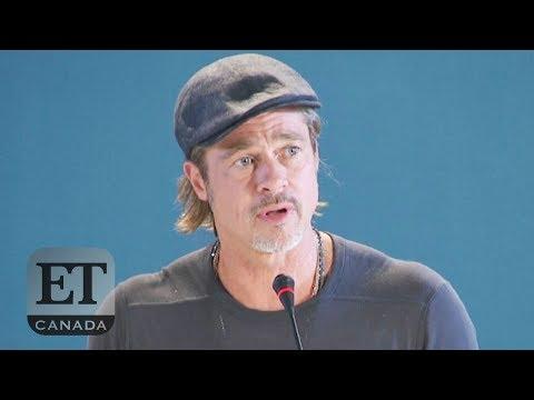 Brad Pitt On Alcoholics Anonymous, Staying Sober