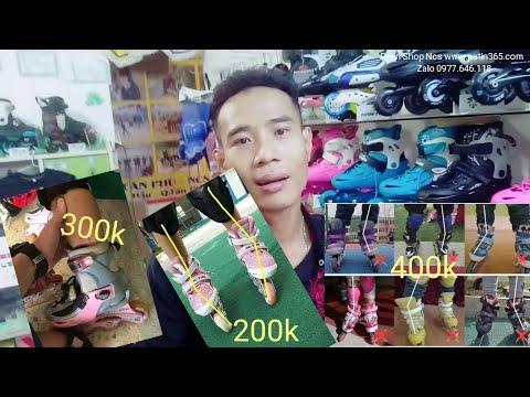 Giày Patin giá rẻ 200k 300k 400k 500k 700k cao cấp có tốt như quảng cáo ???