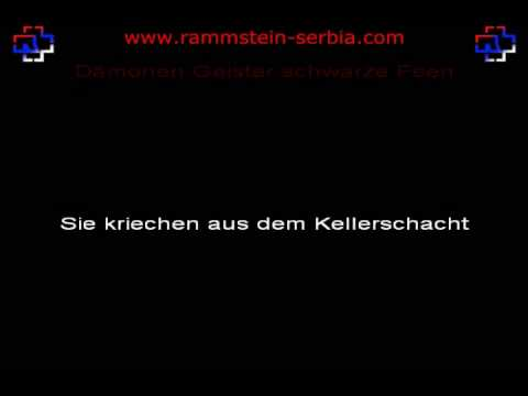 Rammstein - Mein Herz Brennt [Piano Version] (instrumental with lyrics)