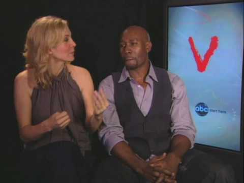 Elizabeth Mitchell and Morris Chestnut talk