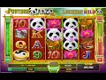 FORTUNE PANDA Free Spins Bonus Online Slot Machine Live Play