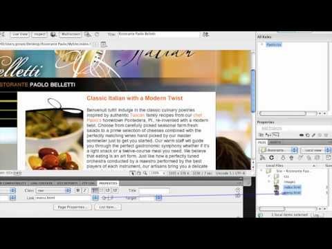 how to make multiple pages in dreamweaver