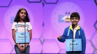 Gambar cover Scripps National Spelling Bee 2019 I Round 2 I Akash and Amrita Vukoti