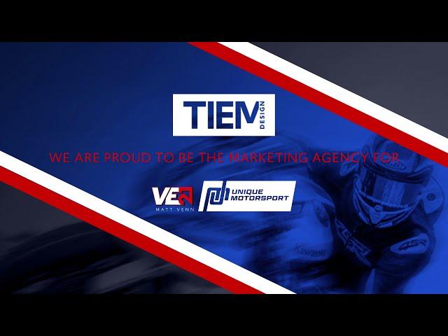 Unique Motorsport and Matt Venn Superbike racer 21 Promo_TIEM Website design.