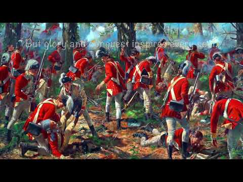 """American Loyalist Song- """"The British Light Infantry"""""""