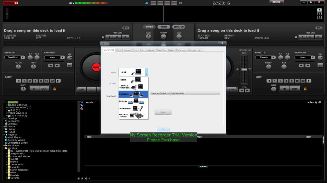 DJ Software - VirtualDJ - ASIO Sound Driver Error