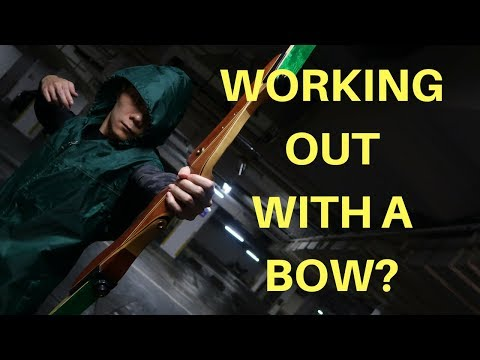 Are You Ready to Defend Star City? GREEN ARROW Workout FOR BEGINNERS