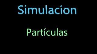 Simulación partículas | Blender