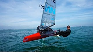 Tips for getting started in Moth Sailing with Mike Lennon from Lennon Sails