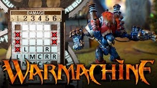 WarGamerGirl # 11 KHADOR vs CYGNAR Warmachine 35pt Battle Report