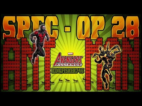 Marvel Avengers Alliance: Special Operations 28 Task List Finale - Ant-Man Recruited