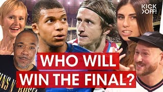 France vs Croatia - Who will win the World Cup 2018 in Russia? | The World Cup Show
