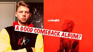 HE IS BACK!! | Justin Bieber - Changes (ALBUM) | FIRST REVIEW/REACTION