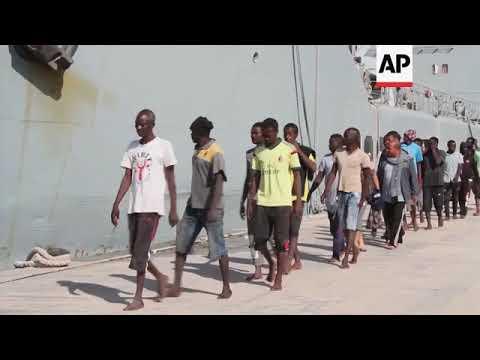 Libya coast guard rescues more migrants off the coast