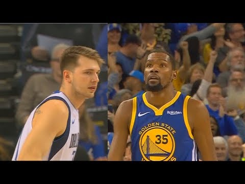 Luka Doncic Schools Entire Warriors Then Kevin Durant Takes Over! Warriors vs Mavericks