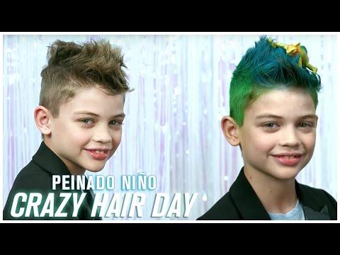 Peinado Crazy Hair Day Nino