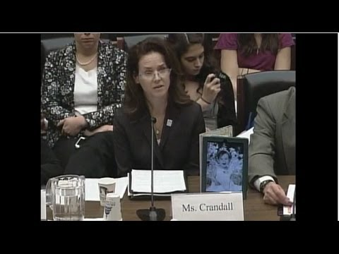 Laura Crandall, SUDC Program Director Testifies Before Congress