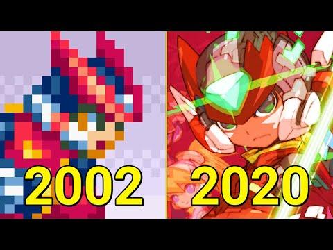 Evolution Of Mega Man Zero/ZX Games 2002-2020