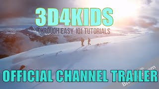 OFFICIAL 3D4KIDS HOW TO DRAW 3D CHANNEL TRAILER !