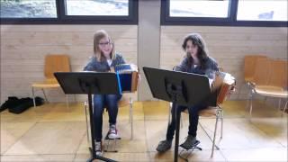 Jungmusikantentreffen 2015 Part 16 Cornelia Barmettler und Julia Leu aus Büren Oberdorf NW