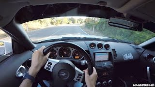 POV Drive in my Customized Nissan 350Z on Winding Roads!