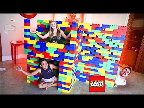 MANSÃO DE LEGO COM 2 ANDARES!!