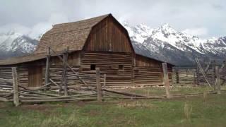 Mormon Row Barns Jackson Hole Wyoming June 2010