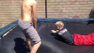 WWE World Championship Match (Trampoline)