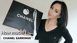 HOW MUCH ARE CHANEL EARRINGS?