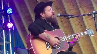 """Nathaniel Rateliff """"I'd Be Waiting"""" @ Firefly 2016 Coffee House 6.19.16"""
