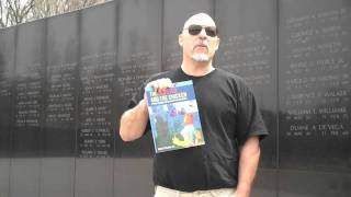 Vietnam Memorial and the lobster guy