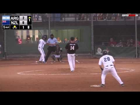 New Zealand vs Argentina RR WBSC World Championship 2/2