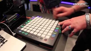Elevator @ Musikmesse 2015: Novation Launchpad Pro mit Sounddemo (deutsch)