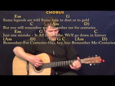 Centuries (Fall Out Boy) Strum Guitar Cover Lesson with Chords/Lyrics