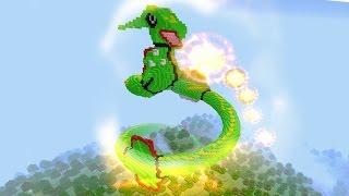 MINECRAFT vs POKEMON GO : RAYQUAZA  VS REZENDE !!!