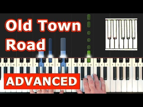 Old Town Road Roblox Piano Sheet Easy Lil Nas X Old Town Road Piano Tutorial Easy Sheet Music Synthesia Youtube