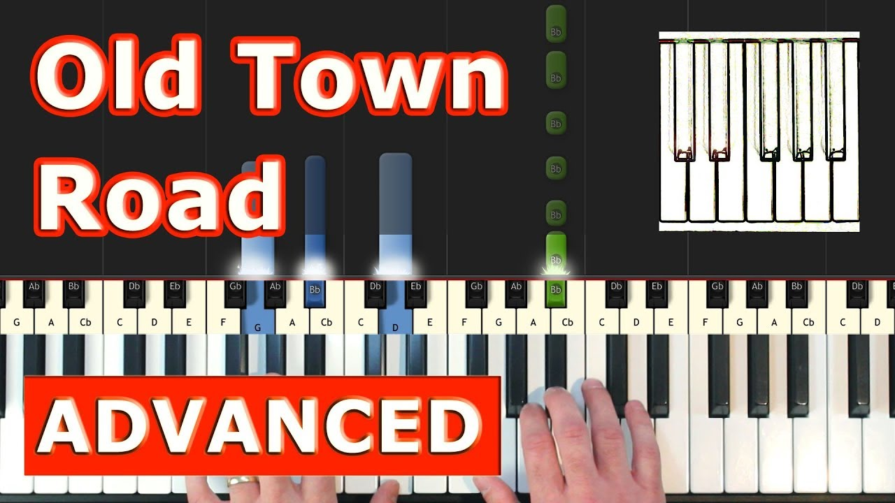 Lil Nas X Old Town Road Piano Tutorial Easy Sheet Music