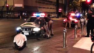 Fremont Street Experience - Police