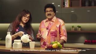 Celebrity Home interiors | MG Sreekumar and wife Lekha Sreekumar on their New Home Decor  -2019
