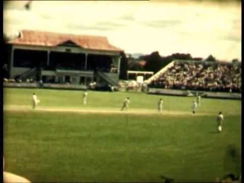 England Vs New Zealand Cricket Test Eden Park Auckland New Zealand 1961