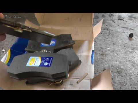 Замена передних тормозных колодок ВАЗ 2110
