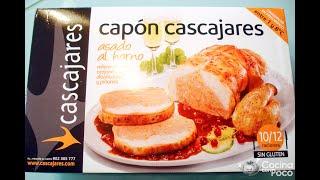 Capón de Cascajares Asado - receta paso a paso - CocinaConPoco.com