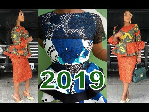 African Clothing Styles 2019 : Stylish Ankara And Aso ebi Styles For Ladies