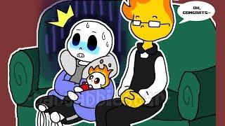 Sans have A Baby Bones【Undertale Animation】Undertale Comic dubs